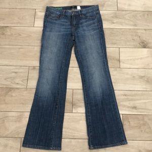 J. Crew stretch 27 s bootcut jeans